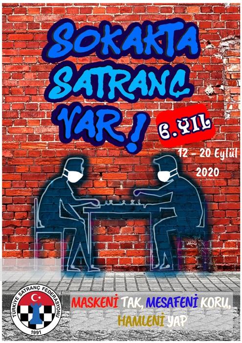 """""""Sokakta Satranç Var"""" Projesi pandemi kurallarıyla yapılacak"""
