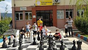 """""""Sokakta satranç var"""" projesine ilgi büyük"""