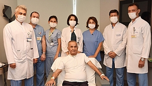 Türkiye'nin ilk Covid-19 hastalarından biri 5,5 ay sonra taburcu oldu!