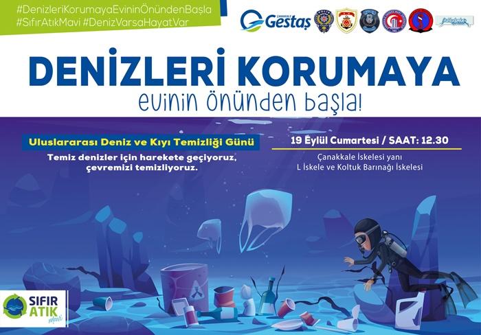 Uluslararası Deniz ve Kıyı Temizliği Günü etkinliği yarın gerçekleşecek