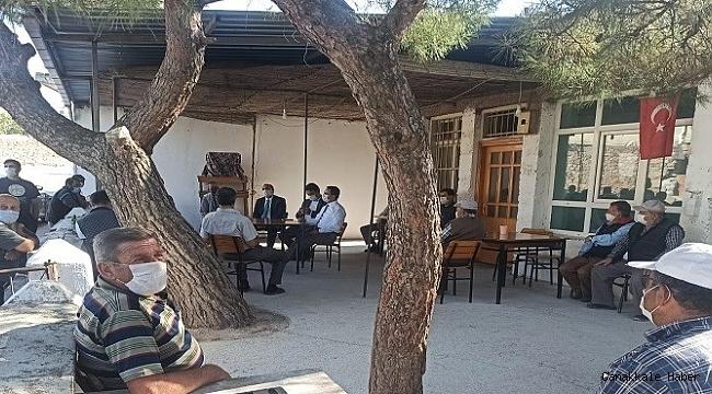 Vali Aktaş'tan köy ziyaretleri