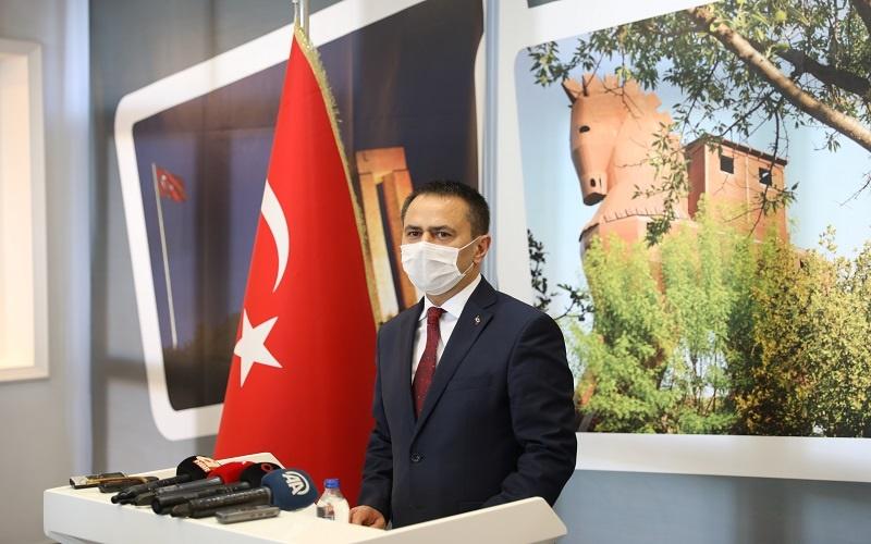 """Vali Aktaş; """"Türk Kahramanlığının hareket noktası vatan ve millet sevgisidir"""""""