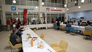 Vali Aktaş, Türkiye Gençlik Vakfı Çanakkale Temsilciliği ile bir araya geldi