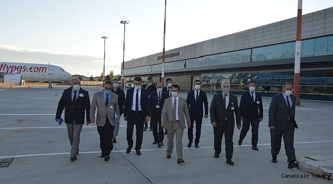Aktaş'tan 'havalimanı' incelemesi