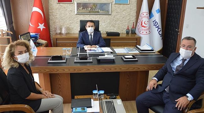 Aktaş'tan kamu kurumlarına ziyaret