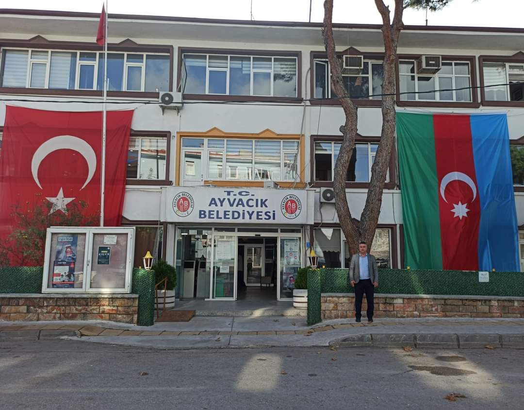 Ayvacık Belediyesi'nden kardeş Azerbaycan'a destek