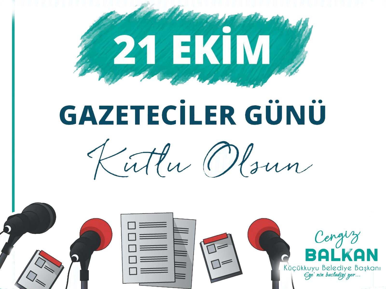 Balkan'dan Dünya gazeteciler günü mesajı