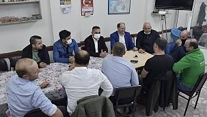 Başkan Erdoğan Esnaf ve Vatandaşlarla Çay Sohbetinde Buluştu