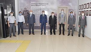 Başkan Erdoğan, Müftü Orhanlı'yı ağırladı