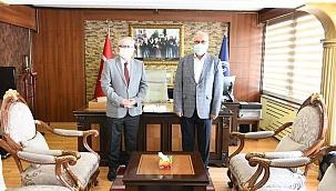 Başkan Gökhan'dan, Müftü Kabukçu'ya ziyaret