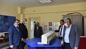 Başkan Öz'den eğitim merkezine ziyaret