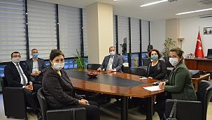 Başkan Öz'den Semizoğlu'na ziyaret