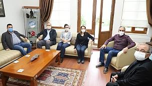 Başkan Özacar'a ziyaret