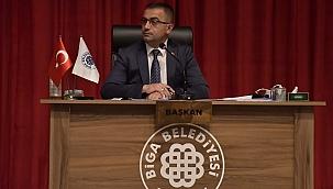 Biga Belediye Meclisi Azerbaycan'a Destek Verdi
