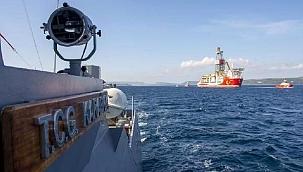 Çanakkale Boğazı'nda Kanuni sondaj gemisi