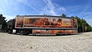 """""""Çanakkale Savaşları Mobil Müzesi"""" tırı Bitlis'te"""