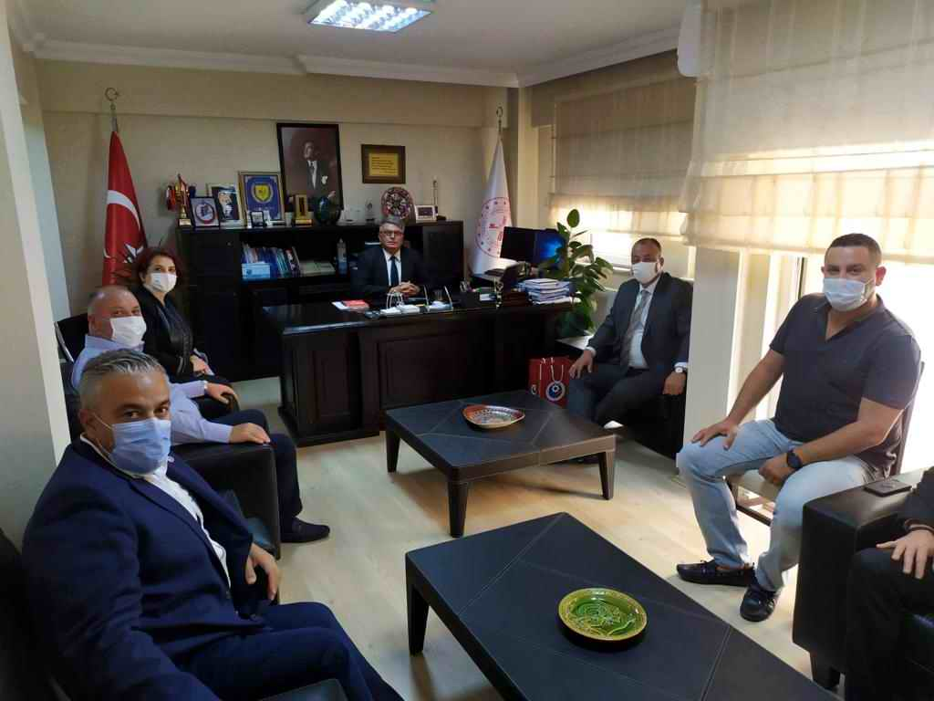 ÇTSO'dan Defterdar Alpay Ekici'ye ziyaret