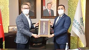 Erdoğan'dan Başakşehir Belediyesine ziyaret