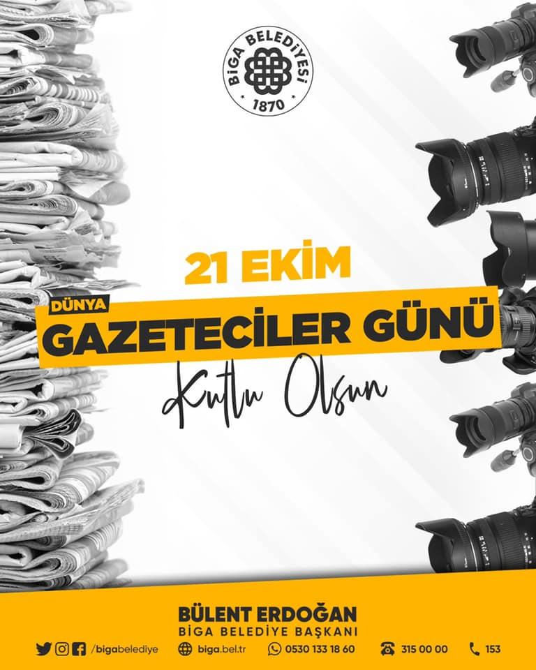 Erdoğan'dan Dünya gazeteciler günü mesajı