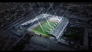 İzmir'in tarihi stadyumu E.C.A ile iklimlendiriliyor