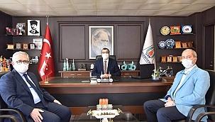 Kabukçu'dan Başkan Öz'e ziyaret