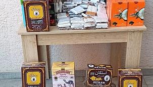 Lapseki'de kaçak tütün operasyonu