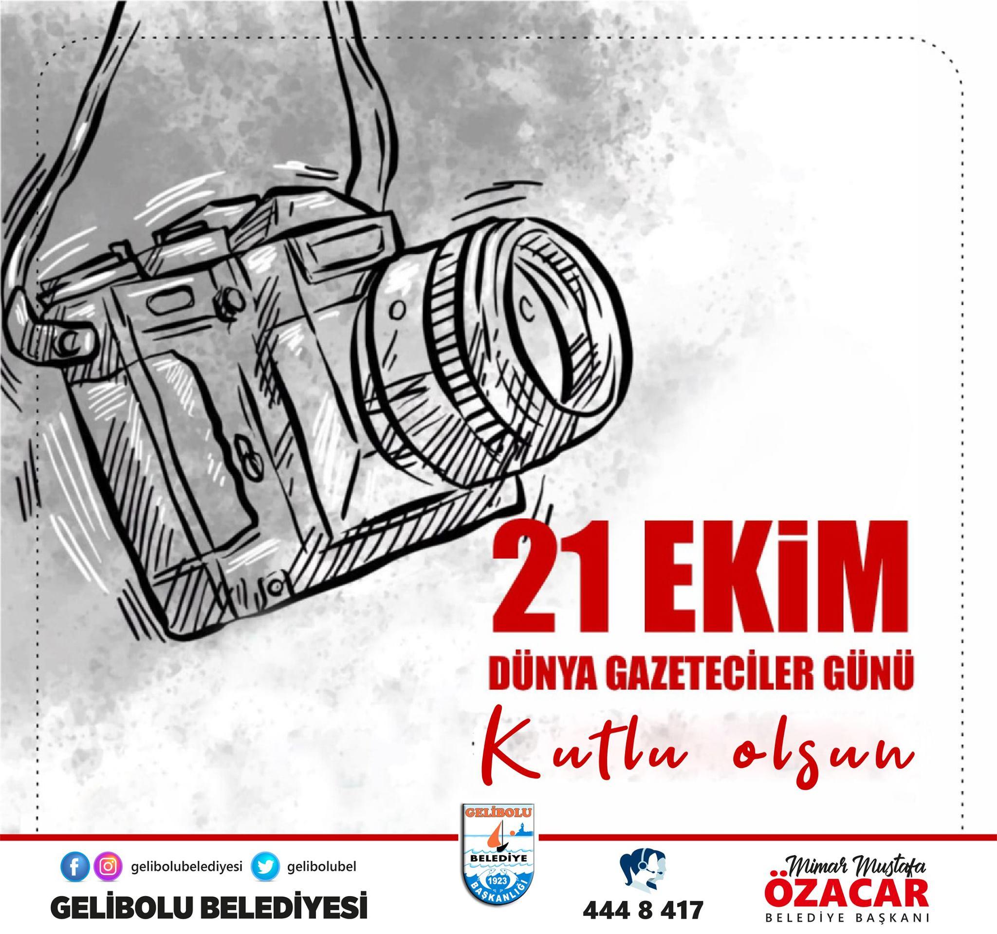Özacar'dan Dünya gazeteciler günü mesajı