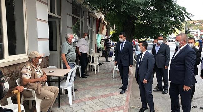 Vali Aktaş'tan Ezine'ye ziyaret