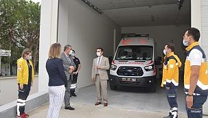 Vali Aktaş'tan sağlık birimlerine ziyaret