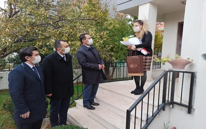 Aktaş, Eşi Şehit Olan Öğretmenlerimizi Ziyaret Etti