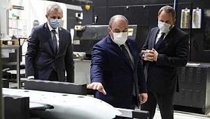 Bakan Varank, Milli Turbojet Motoru'nu test etti