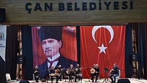 Çan Belediyesinden Atatürk için çocuk korosu