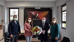 ÇTB Başkanı Kaya Üzen'den Öğretmenler Günü Ziyareti