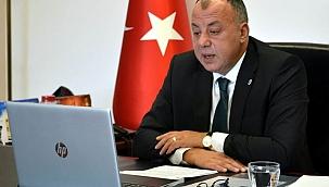 ÇTSO Meclis toplantısı video konferans yöntemiyle yapıldı