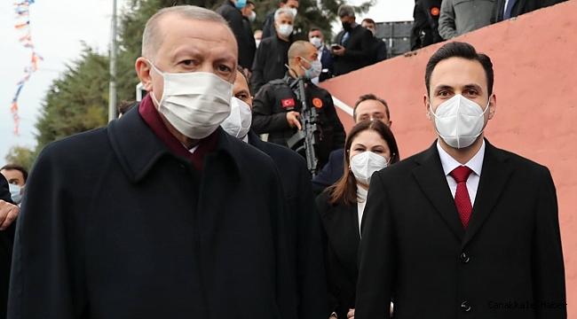 Erdoğan, Çanakkale'ye selam gönderdi