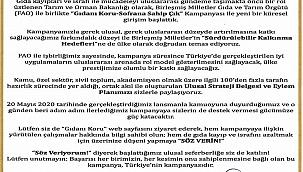 """""""GIDANI KORU-Sofrana Sahip Çık"""""""