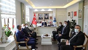 Kent Konseyleri Başkanlarından Vali Aktaş'a ziyaret