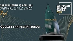 Sürdürülebilir İş Ödülleri 2020 Sahiplerini Buldu