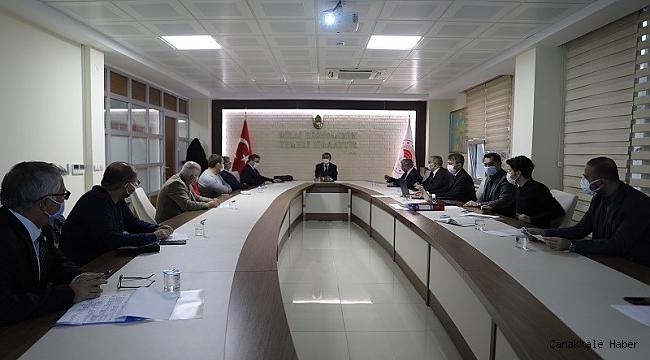 Vali Aktaş, kurul toplantısına katıldı
