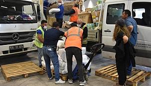 Yardımlar İzmir'de