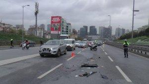 15 Temmuz Şehitler Köprüsü Edirne istikametinde trafik kazası: 3 yaralı