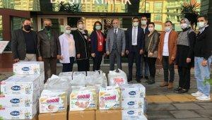 AK Parti Efeler İlçe Kadın Kollarından anlamlı bağış