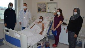 Alanya'da ilk kez kapalı akciğer ameliyatı gerçekleştirildi