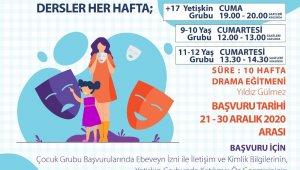 Ankara Büyükşehir Belediyesinden yeni yılda online drama dersi