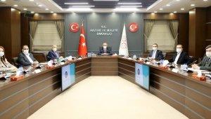 Arslan'dan Hazine ve Maliye Bakanı Elvan'a ziyaret
