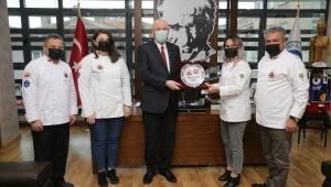 Aşçılar Derneği'nden Başkan Kurt'a teşekkür ziyareti