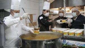 Atakum'dan 36 günde 1373 hane ve 3790 hastaya yemek desteği
