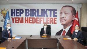 Başkan Büyükkılıç AK Parti Genişletilmiş İl Başkanları toplantısına katıldı
