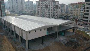 Başkan Çınar, Çilesiz Yaşam Merkezi inşaatını yakından takip ediyor