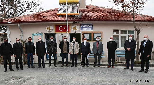 """Başkan Işık: """"Kanal Kütahya projesinin imar düzenlemesi yapıldı"""""""